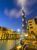 Uae, Dubai, Burj Khalifa Photographic Print by Alan Copson