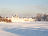 Bogorodichno-Uspenskij Monastery, Tikhvin, Leningrad Region, Russia Photographic Print by Nadia Isakova