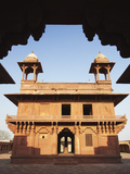 Diwam-I-Khas (Hall of Private Audience), Fatehpur Sikri (Unesco World Heritage Site), Uttar Pradesh Photographic Print by Ian Trower