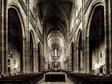 Czech Republic, Prague, Hradcany Castle, St. Vitus Cathedral Photographic Print by Michele Falzone