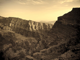 Oman, Hajjar Mountain Range, Jebel Shams Mountain, Wadi Ghul, the &#39;Grand Canyon of Arabia&#39; Photographic Print by Michele Falzone