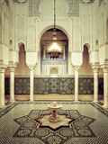 Morocco, Meknes, Medina (Old Town), Moulay Ismal Mausoleum Photographic Print by Michele Falzone