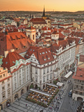 Europe, Czech Republic, Central Bohemia Region, Prague, Prague Old Town Square Photographic Print by Francesco Iacobelli