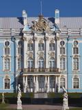 Russia, St. Petersburg, Pushkin-Tsarskoye Selo, Catherine Palace Photographic Print by Walter Bibikow