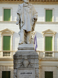 Italy, Veneto, Vicenza, Western Europe, Monument to One of the Great Symbolic Figures of Italian Un Photographic Print by Ken Scicluna