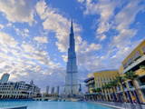 Uae, Dubai, Burj Khalifa Photographic Print by Alan Copson
