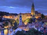 Czech Republic, South Bohemia, Cesky Krumlov Photographic Print by Michele Falzone