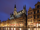 The Maison Du Roi (King's House) on the Famous Grande Place in the City Centre of Brussels, Belgium Photographic Print by David Bank