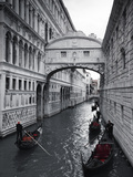 Bridge of Sighs, Doge's Palace, Venice, Italy Fotoprint van Jon Arnold