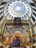Israel, Jerusalem, Old City, Christian Quarter, Church of the Holy Sepulchre Photographic Print by Gavin Hellier