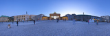 360 Degree Panoramic Image of Brandenburg Gate and Pariser Platz, Berlin, Germany Photographic Print by Jon Arnold