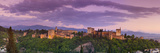 The Alhambra Palace Illuminated at Dusk, Granada, Granada Province, Andalucia, Spain Photographic Print by Doug Pearson