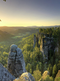Germany, Saxony, Dresden, Saxon Switzerland National Park (Sachsische Schweiz) Photographic Print by Michele Falzone