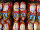 Wooden Dutch Clogs for Sale in a Market, Amsterdam, Netherlands, Europe Photographic Print by Neil Farrin