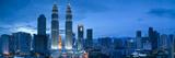 Petronas Towers and Klcc, Kuala Lumpur, Malaysia Photographic Print by Jon Arnold