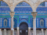 Israel, Jerusalem, Temple Mount, Dome of the Rock Photographic Print by Walter Bibikow