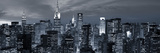 Midtown Skyline with Chrysler Building and Empire State Building, Manhattan, New York City, USA Fotodruck von Jon Arnold