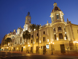 Town Hall, Plaza Del Ayuntamiento, Valencia, Spain Photographic Print by Neil Farrin