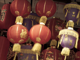 Chinese Lanterns in Shop Front, China Town, Singapore Photographic Print by Jon Arnold