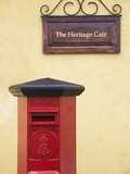 Postbox, Galle, Southern Province, Sri Lanka Photographic Print by Ian Trower