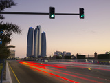 United Arab Emirates, Abu Dhabi, Etihad Towers Photographic Print by Alan Copson