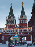 Russia, Moscow, Red Square, Resurrection Gate Photographic Print by Walter Bibikow