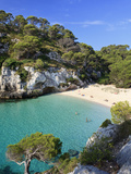 Spain, Balearic Islands, Menorca, Cala Macarelleta Photographic Print by Michele Falzone