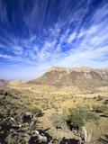 Oman, Hajjar Mountain Range, Jebel Shams Mountain Photographic Print by Michele Falzone