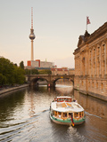 Spree River by Museum Island, Berlin, Germany Photographic Print by Jon Arnold