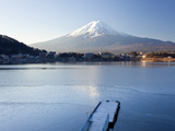 Lake Kawaguchi, Mount Fuji, Japan Photographic Print by Peter Adams