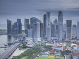 Central Business District, Singapore Photographic Print by Jon Arnold