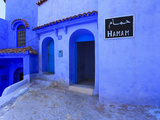 Morocco, Rif Mountains, Chefchaouen, Medina Photographic Print by Michele Falzone