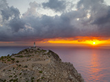 Lighthouse at Cap De Formentor, Mallorca, Balearic Islands, Spain Photographic Print by Doug Pearson