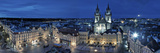 Czech Republic, Prague, Stare Mesto (Old Town), Old Town Square and Church of Our Lady before Tyn Photographic Print by Michele Falzone