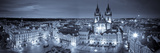 Michele Falzone - Czech Republic, Prague, Stare Mesto (Old Town), Old Town Square and Church of Our Lady before Tyn Fotografická reprodukce
