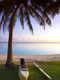 Muri Beach, Rarotonga, Cook Islands, South Pacific Photographic Print by Doug Pearson