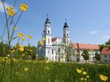 Monastery, Irrsee, Allgaeu, Bavaria, Germany Photographic Print by Katja Kreder