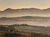 Italy, Umbria, Perugia District, Autumnal Countryside Near Montefalco Photographic Print by Francesco Iacobelli