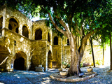 Medieval Architecture, Rhodes Town, Rhodes, Greece Photographic Print by Doug Pearson