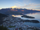 Queenstown Overview, Queenstown, Central Otago, South Island, New Zealand Photographic Print by Doug Pearson