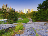 USA, New York, Manhattan, Central Park Photographic Print by Alan Copson