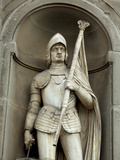 Italy, Florence, Western Europe, One of the Numerous Statues Near the Uffizi Photographic Print by Ken Scicluna