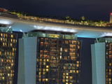 Singapore, Marina Bay Sands Hotel and Skypark Photographic Print by Michele Falzone