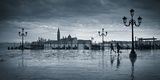 Piazza San Marco Looking across to San Giorgio Maggiore, Venice, Italy Photographic Print by Jon Arnold