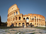 The Colosseum, Roman Forum, Rome, Lazio, Italy, Europe Photographic Print by Francesco Iacobelli