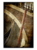 Gondola and Bridge, Venice, Italy Photographic Print by Jon Arnold