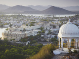 View of City Palace, Udaipur, Rajasthan, India Photographic Print by Ian Trower