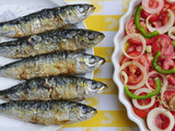 Grilled Sardines, a Delicacy. Setubal, Portugal Photographic Print by Mauricio Abreu