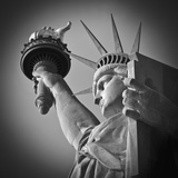USA, New York, Statue of Liberty Lmina fotogrfica por Alan Copson