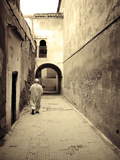 Morocco, Marrakech, Medina (Old Town) Fotografisk tryk af Michele Falzone
